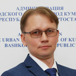 Frolov <span> Oleg Yurievich </span> , Head of the Administration of the Urban District, the city of Kumertau